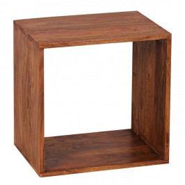 Odkládací stolek z masivního palisandrového dřeva Skyport Estrella