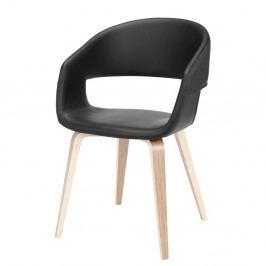 Černá jídelní židle Interstil Nova Nature
