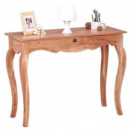 Pracovní stůl z masivního akáciového dřeva Skyport OPIUM