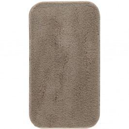 Hnědá koupelnová předložka Confetti Miami, 67x120cm
