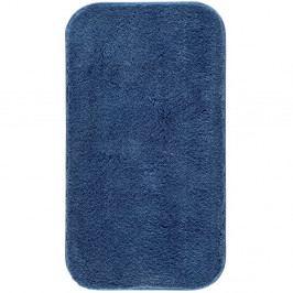 Modrá koupelnová předložka Confetti Miami, 67x120cm