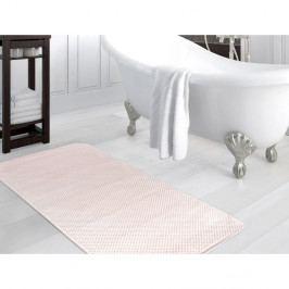 Růžová koupelnová předložka Madame Coco Ballard, 80 x 140 cm