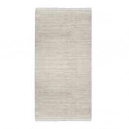 Sametový koberec Deri Dijital Kaluna Brown, 80x150cm