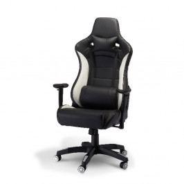 Kancelářská židle Furnhouse De Luxe Swivel White