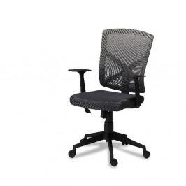 Šedá kancelářská židle Furnhouse Swivel