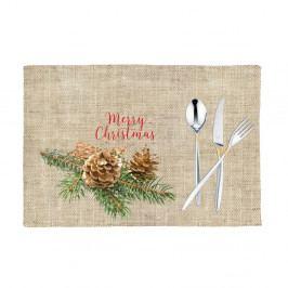 Sada 2 vánočních prostírání Mike&Co.NEWYORK Honey Merry, 33 x 45 cm