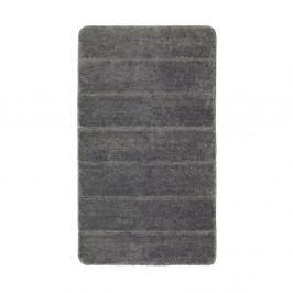 Tmavě šedá koupelnová předložka Wenko Steps, 120x70cm