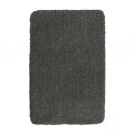 Tmavě šedá koupelnová předložka Wenko Belize, 120x70cm