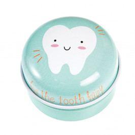 Světle zelená plechová krabička Rex London Tooth Fairy