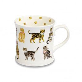 Porcelánový hrnek Cooksmart ® Cats on Parade, 450 ml