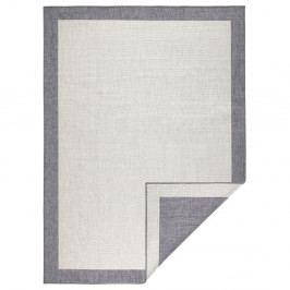 Světle šedý oboustranný koberec vhodný i na ven bougari Panama, 160x230 cm