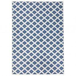 Světle modrý vzorovaný oboustranný koberec Bougari Nizza, 120x170 cm