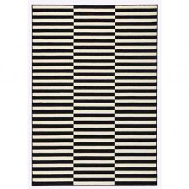 Černobílý koberec Hanse Home Gloria Panel, 80x150cm