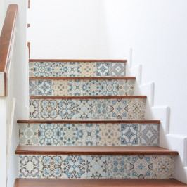 Sada 2 samolepek na schody Ambiance Stylismo, 15 x 105 cm