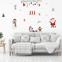 Vánoční samolepka Ambiance Christmas Elements