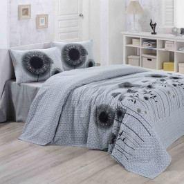 Přehoz přes postel White Black, 200x230 cm