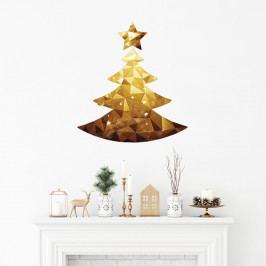 Vánoční samolepka Ambiance Christmas Tree Origami
