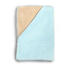 Dětská modrá deka z měkoučké bavlny YappyKids Sense, 75x100cm