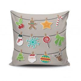 Polštář Christmas Time, 45x45 cm