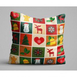 Polštář Christmas Cris Cros, 45x45 cm