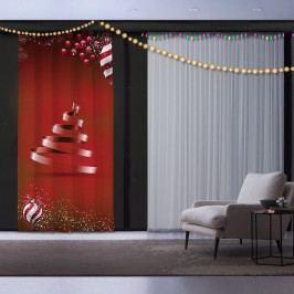 Vánoční závěs Christmas Ribon Tree, 140 x 260 cm