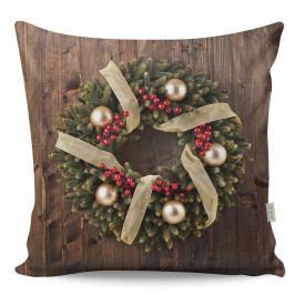 Oboustranný polštář Wreath, 43x43cm