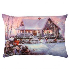 Polštář Violet Christmas, 33x48 cm