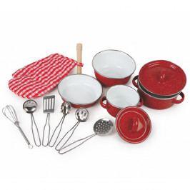 Set dětského kuchyňského nádobí Legler Redy