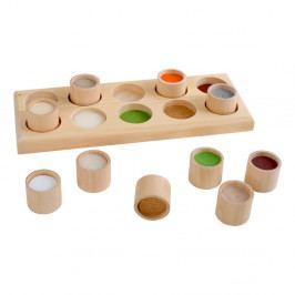 Dřevěná hračka pro rozvoj motoriky Legler Touch Memo