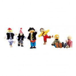 Sada dřevěných hraček Legler Pirates