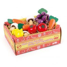 Hrací přepravka se zeleninou Legler