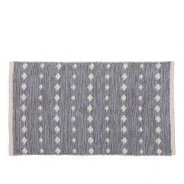 Šedý bavlněný koberec A Simple Mess Ank, 80x50cm