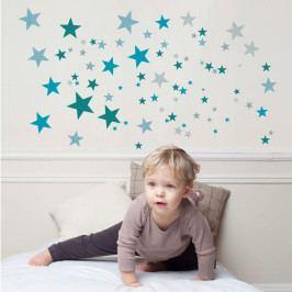 Modré nástěnné samolepky Art For Kids Constellation