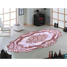 Koberec Vitaus Huniyo Kahve, 60 x 100 cm