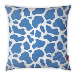 Modro-bílý povlak na polštář Vitaus Animal Print, 43 x 43 cm