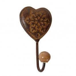 Hnědý háček Antic Line Chalet Heart