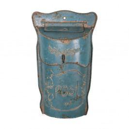 Modrá poštovní schránka Antic Line Lettres Bleue