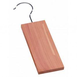 Destička z cedrového dřeva s háčkem do šatní skříně Compactor