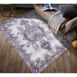 Světle šedý koberec odolný proti skvrnám Webtappeti Jasmine, 160x230cm