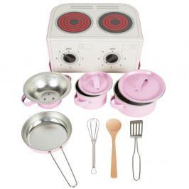 Dětský růžový kuchyňský set Sass & Belle