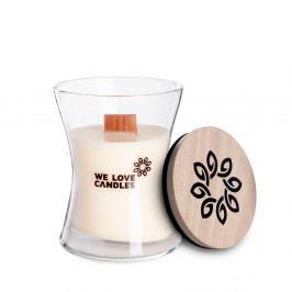 Svíčka ze sójového vosku We Love Candles Ivory Cotton, doba hoření 21 hodin