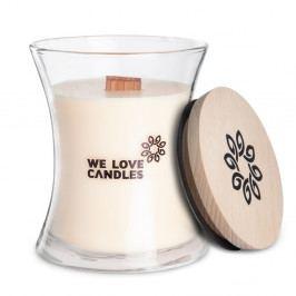 Svíčka ze sójového vosku We Love Candles Ivory Cotton, doba hoření 64 hodin