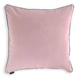 Růžový povlak na polštář WeLoveBeds Rose Quarz, 60 x 60 cm