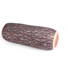 Polštář v dekoru špalku Kikkerland, délka 38,1 cm