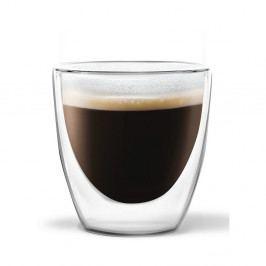 Sada 2 dvojitých hrnků Vialli Design Ronny Espresso, 80ml