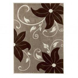 Béžovo-hnědý koberec Think Rugs Verona, 60x120cm