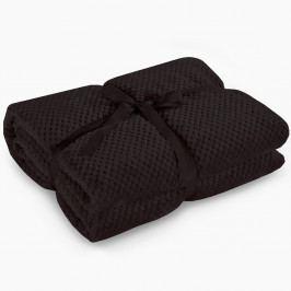 Černá deka z mikrovlákna DecoKing Henry, 70x150cm