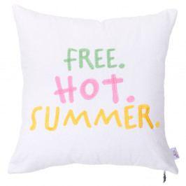 Povlak na polštář Apolena Free Hot Summer, 41 x 41 cm