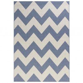 Modrobílý koberec vhodný do exteriéru Bougari Unique, 160x230cm