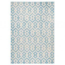 Modrobílý koberec Zala Living Kramla, 200x290cm
